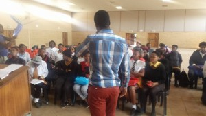 Teboho At Dr Reginald Cingo Comprehensive School.